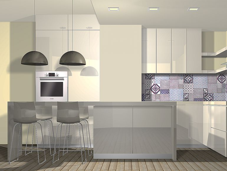 Project kitchen - Monochrome