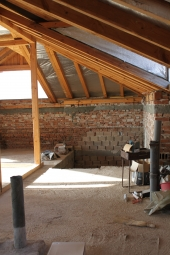 Interior design Mountain mansard 103 m2