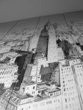 "Process work penthouse square ""Manastirski livadi"""