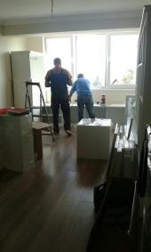 Процес по осъществяване на интериорен проект, на маломерно старо жилище.